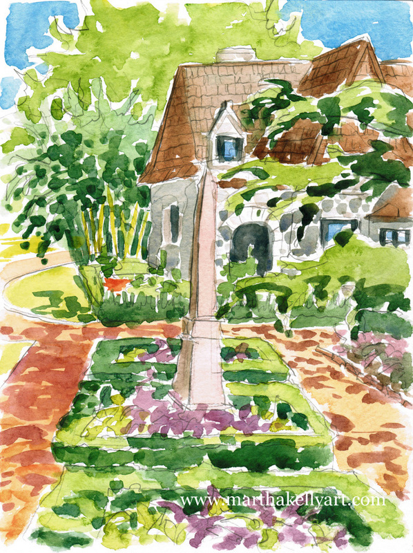 I Spent A Week In Cape May Working For The Cape Resorts Hotel Group And  Doing Watercolors Of Their Properties. It Was A Neat Job ...